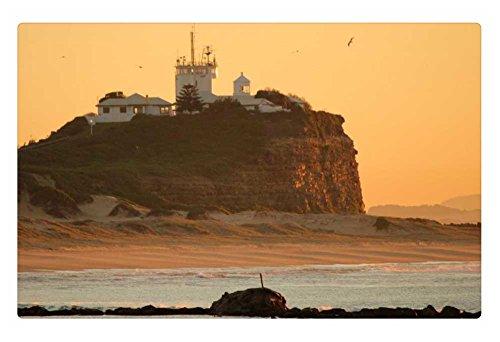 irocket-indoor-floor-rug-mat-sunrise-over-nobbys-lighthouse-236-x-157-inches