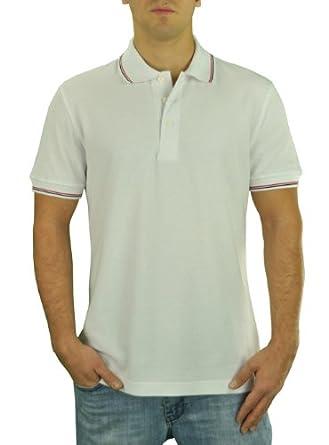 Darya Trading Royal Classic Fit Designer Men's Fashion Pique Polo Sport Shirt (Medium, White)
