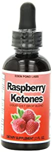 Eden Pond Ketones Liquid Diet Drops Best Fat Burner Weight Loss That Works, Raspberry, 2 Fluid Ounce