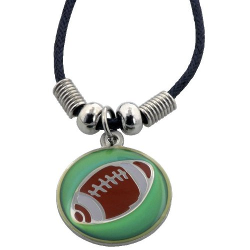 Forgiven Jewelry - Christian Sports: Football Necklace That Color Changes