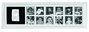 Baby Art First Year Print Frame Classic (White)