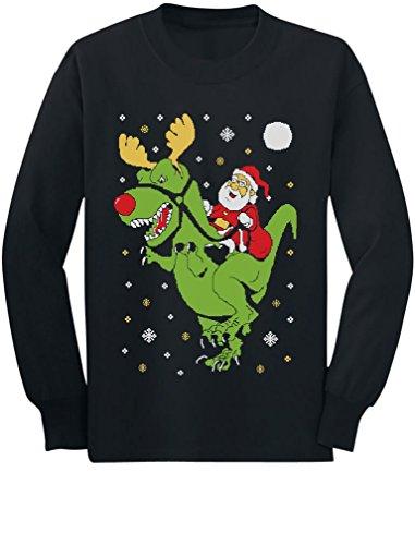 T-Rex Santa Ride Funny
