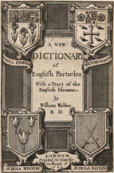 "6"" X 4"" (15Cm X 10Cm) Art Greetings Card Wenceslaus Hollar - Walker. A New Dictionary"