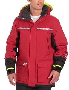 Helly Hansen Men's Crew Coastal Sailing Jacket - Red, Small