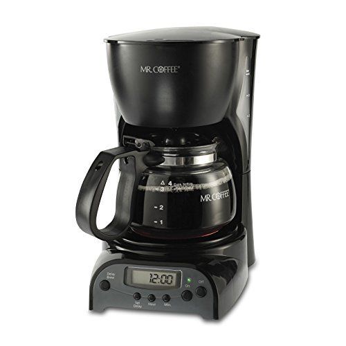 Mr.Coffee 4-Cup Programmable Coffeemaker