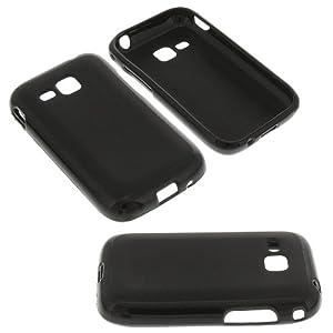 Silikon Tasche für Samsung Rex60 GT-C3310R schwarz Silicon Schutz Handytasche