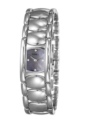 Ebel - 9057A21-39650 - Montre Femme - Quartz - Analogique - Bracelet Acier inoxydable Argent