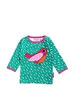 Toby Tiger Camiseta Manga Larga Lsagbird (Verde)