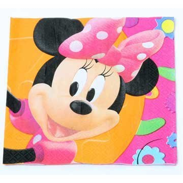 Minnie Mouse Lunch Napkins 16ct - 1