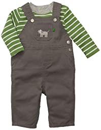 Carter\'s 2-pc Overall Set - Gray-12 Months