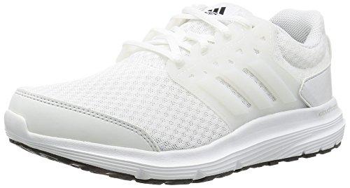 Adidas Galaxy 3 - Scarpe Running Donna, Bianco (Ftwr White/Crystal White/Core Black), 39 1/3 EU