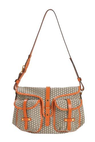 Mia Bossi Reese Diaper Bag, Tangerine