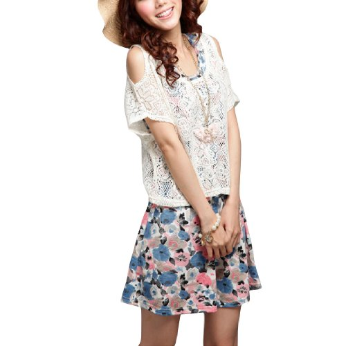 Allegra Ladies Flower Prints Sleeveless