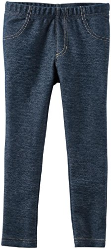 Carter's Girls Single Legging, Denim, 3T