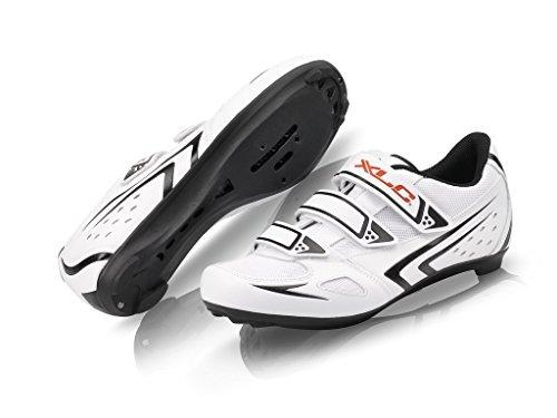 XLC, Scarpe da ciclismo su strada Unisex adulto CB-R04, Bianco (Weiß), 41