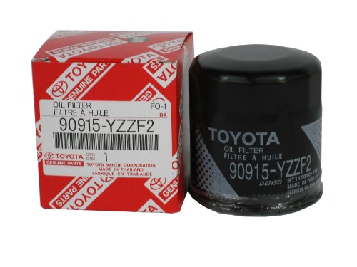 Toyota Genuine Parts 90915-YZZF2 Oil Filter (Toyota Yaris Performance Parts compare prices)