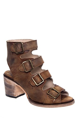 Freebird by Steven Quail Mid Heel Boot-Inspired Sandal