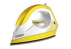 Usha 3302 1100-Watt Dry Iron (Gold and Sulphur Yellow)