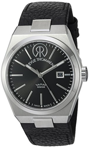 REVUE-THOMMEN-Mens-1070104-Urban-Lifestyle-Analog-Display-Swiss-Automatic-Black-Watch