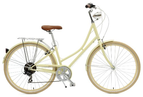 Check Out This Critical Cycles Dutch Style Step-Thru 7-Speed Shimano Hybrid Urban Commuter Road Bicy...