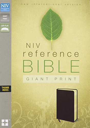 NIV, Reference Bible, Giant Print, Bonded Leather, Burgundy, Indexed PDF
