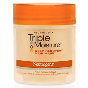 Neutrogena Triple Moisture Deep Recovery Hair Mask, 6 Ounce (Pack of 2)