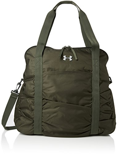 Under Armour UA The Works Tote - Borsa a tracolla da donna, Artillery Green, 42 x 13 x 41 cm, 22 litri, 1279619