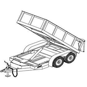 Hydraulic Dump Trailer Blueprints