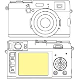 Martin Fields Overlay Plus Screen Protector (FujiFilm X100S)