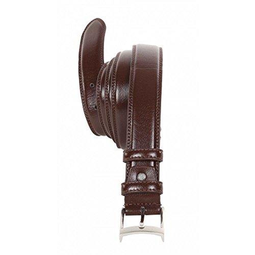 Cintura Maxfort Whisky taglie forti uomo - Nero, 175 CM