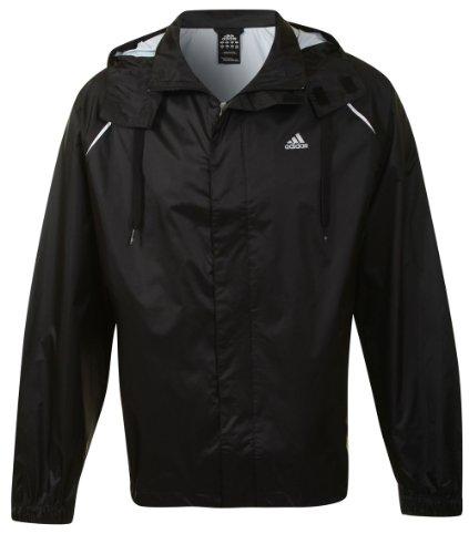 Adidas Mens Ess Basic Rain Jacket Size XS