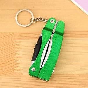 4 - en-1 de la cadena dominante y Tijeras y bolígrafo y Green Light