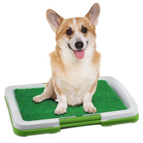 hometek-usa-3-piece-indoor-turf-top-puppy-potty-trainer-restroom-mat-3-lb