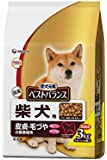 愛犬元気 ベストバランス 柴犬用 チキン・野菜・小魚・玄米入り 3kg