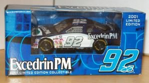 JIMMIE JOHNSON #92 EXCEDRIN PM 2001 LIMITED EDITION