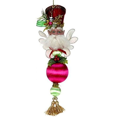 Mark Roberts Fairy Ornaments 51-42204 Prancing Christmas Fairy Ornament 11 inch