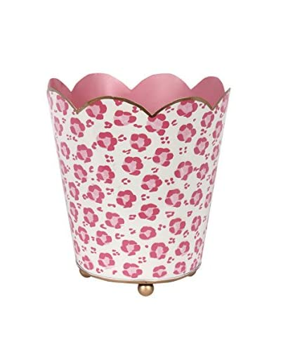 Jayes Leopard Decorative Cachepot, Pink