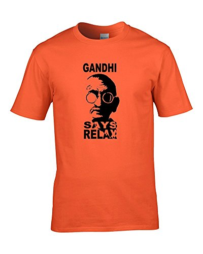 GANDHI SAYS RELAX- FRANKIE SPOOF PARODY - Hilarious Youth T-Shirt