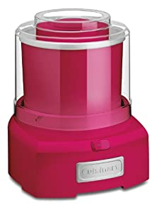 Cuisinart ICE-21BLSLT Frozen Yogurt-Ice Cream & Sorbet Maker, Berry Blue