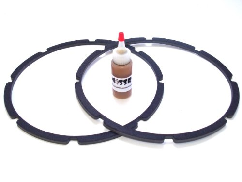 "12"" Pro-Grade Speaker / Subwoofer Chip Gaskets-Adhesive Included"