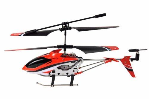 Amewi-25072-Level-X-IR-Indoor-Helikopter-im-Alukoffer-GYRO-USB-LiPo-Akku