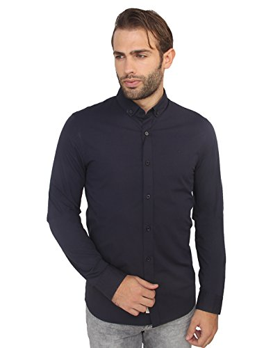 Calvin Klein Men's Casual Shirt (701549164139_J301942_X-Large_Night Sky - Navy)  available at amazon for Rs.3599