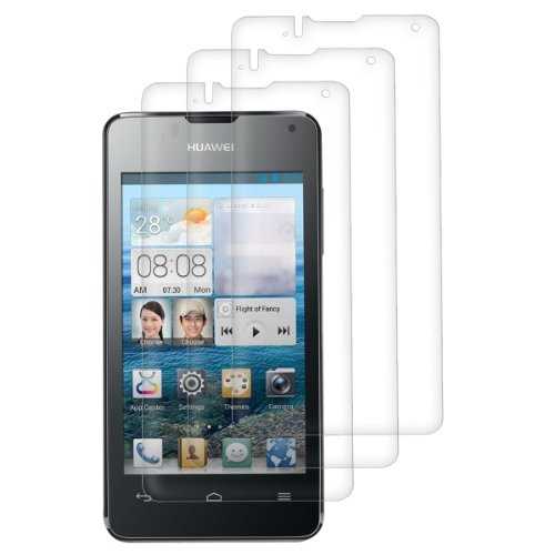 3x screen protector for Huawei Ascend Y300 CRYSTAL CLEAR - premium