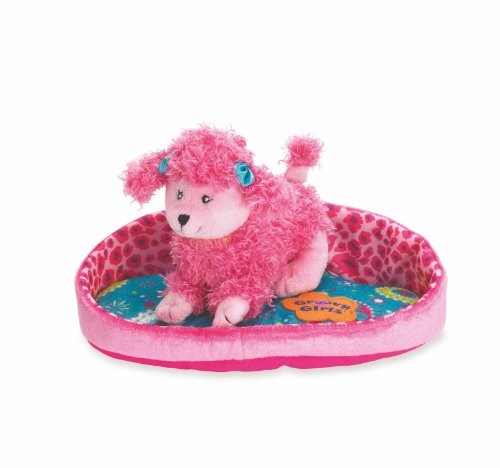 Manhattan Toy Royal Splendor Puppy and Pouf - 1