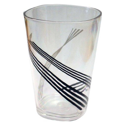 Corelle Coordinates Urban Arc 8-Ounce Acrylic Square Glasses, Set of 6