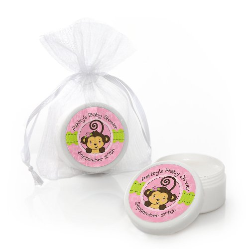 Baby Shower Lip Balms - Monkey Girl front-721631
