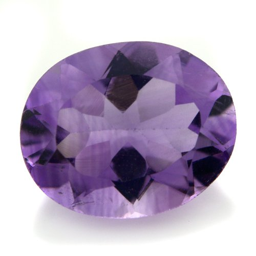 Natural Africa Purple Amethyst Loose Gemstone Oval Cut 11*9mm 3.45cts Stunning