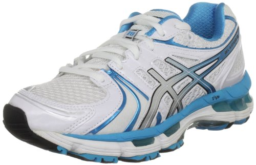 ASICS Women's Gel Kayano White/Island Blue/Black