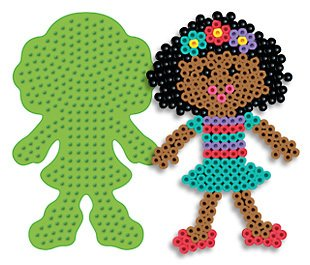 Girl Pegboard Large Style for Perler Fuse Beads