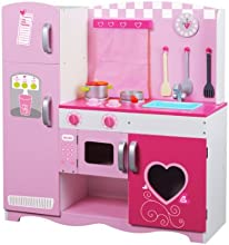 Classic World Wood Kitchen Pink